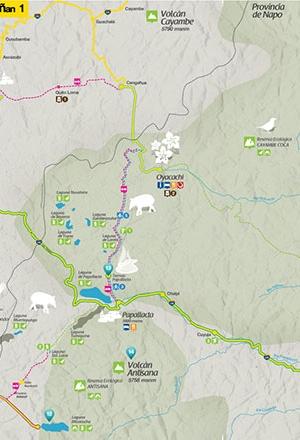 Mapa Ñan Magazine 02: Rutas al Este de Quito