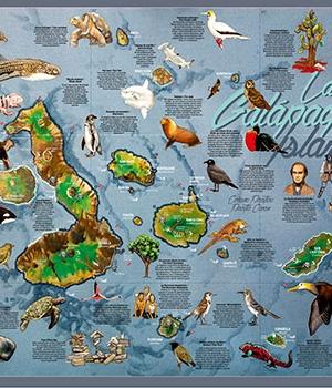 Mapa Ñan Magazine 10: Galapagos – Parte 1: Islas del Oeste