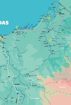 Map Ñan Magazine 26: Esmeraldas – Lush and tropical