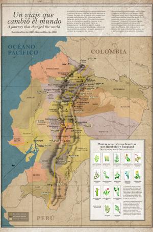 Map Ñan Magazine 34: Humboldt & Bonpland in Ecuador